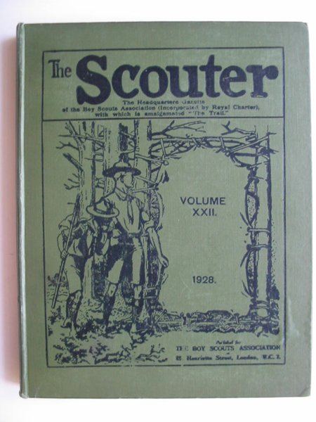 Photo of THE SCOUTER 1928 published by The Boy Scouts Association (STOCK CODE: 596059)  for sale by Stella & Rose's Books
