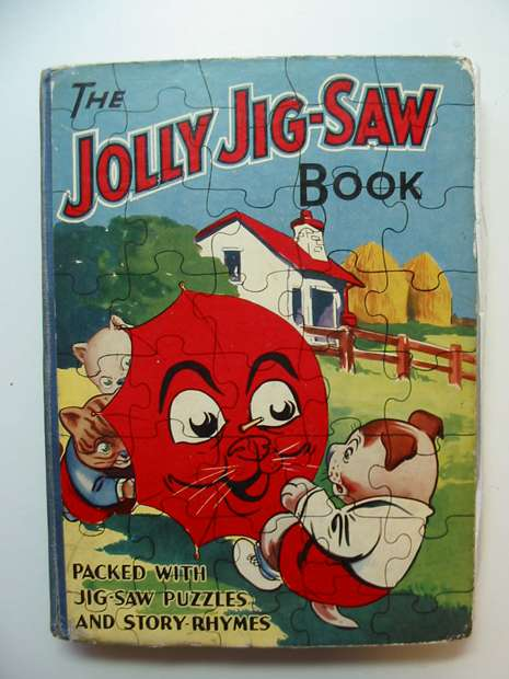 Photo of THE JOLLY JIG-SAW BOOK- Stock Number: 596254