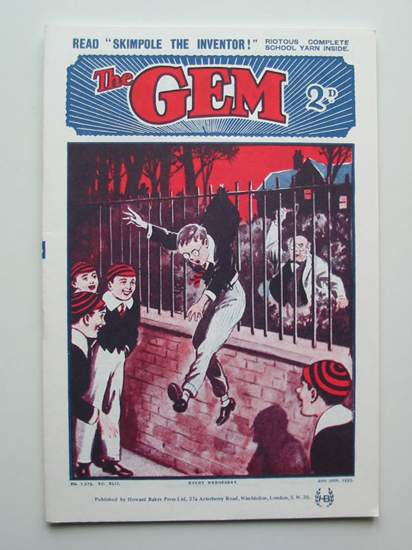 Photo of THE GEM LIBRARY NO. 1,276, VOL. XLII written by Clifford, Martin published by Howard Baker Press (STOCK CODE: 596580)  for sale by Stella & Rose's Books
