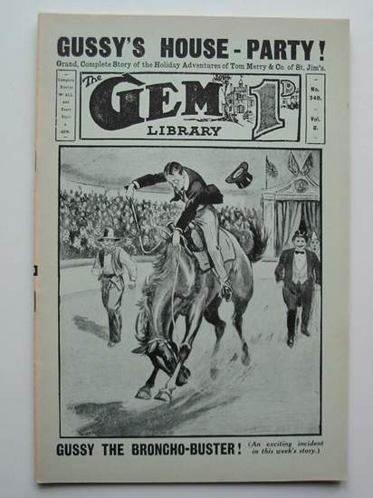 Photo of THE GEM LIBRARY NO. 340, VOL. 8 written by Clifford, Martin published by Howard Baker Press (STOCK CODE: 596590)  for sale by Stella & Rose's Books