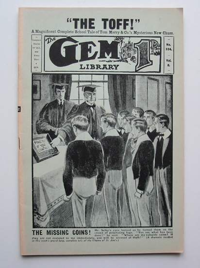 Photo of THE GEM LIBRARY NO. 334, VOL. 8 written by Clifford, Martin published by Howard Baker Press (STOCK CODE: 596591)  for sale by Stella & Rose's Books