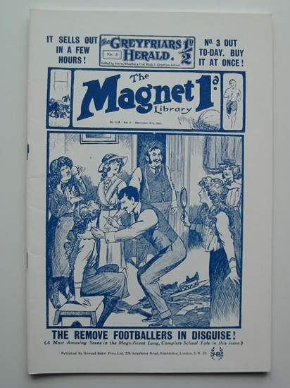 Photo of THE MAGNET LIBRARY NO. 408, VOL. 9 written by Richards, Frank published by Howard Baker Press (STOCK CODE: 596595)  for sale by Stella & Rose's Books