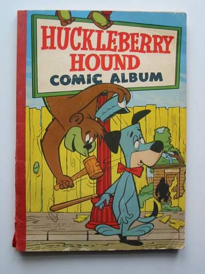 Photo of HUCKLEBERRY HOUND COMIC ALBUM NO. 1- Stock Number: 597097