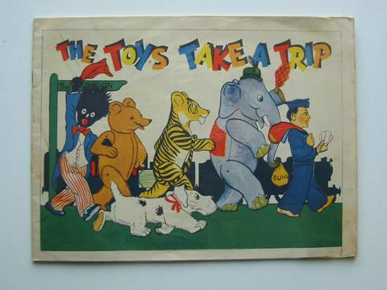 Photo of THE TOYS TAKE A TRIP published by P.M. (Productions) Ltd. (STOCK CODE: 597172)  for sale by Stella & Rose's Books