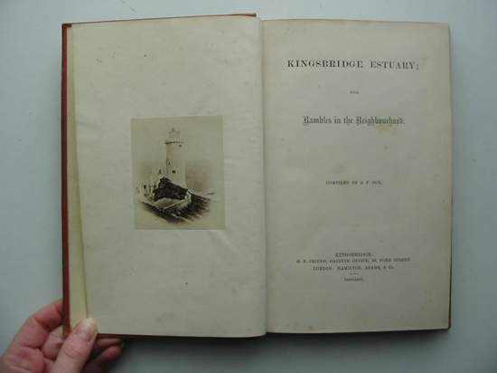 Photo of KINGSBRIDGE ESTUARY WITH RAMBLES IN THE NEIGHBOURHOOD written by Fox, S.P. published by G.P. Friend (STOCK CODE: 597376)  for sale by Stella & Rose's Books