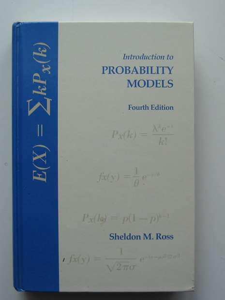 Photo of INTRODUCTION TO PROBABILITY MODELS written by Ross, Sheldon M. published by Academic Press (STOCK CODE: 597566)  for sale by Stella & Rose's Books
