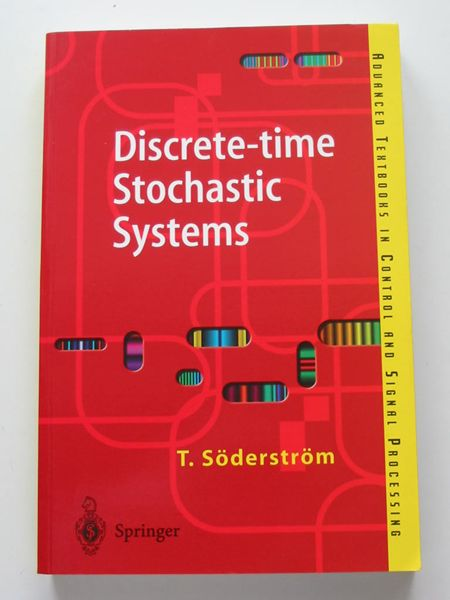 Photo of DISCRETE-TIME STOCHASTIC SYSTEMS written by Soderstrom, T. published by Springer (STOCK CODE: 597585)  for sale by Stella & Rose's Books