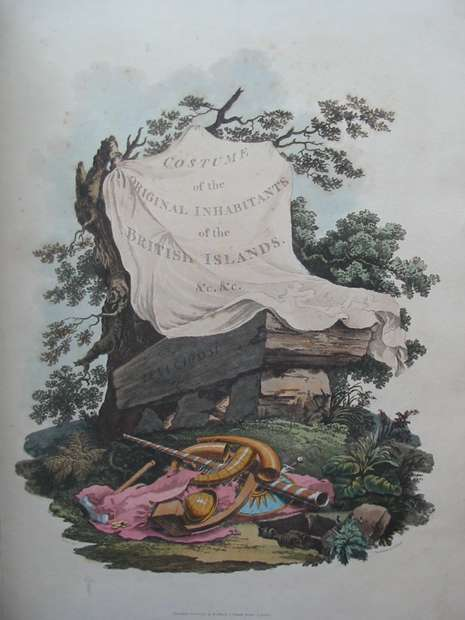 Photo of THE COSTUME OF THE ORIGINAL INHABITANTS OF THE BRITISH ISLANDS written by Meyrick, Samuel Rush<br />Smith, Charles Hamilton published by R. Havell (STOCK CODE: 597663)  for sale by Stella & Rose's Books