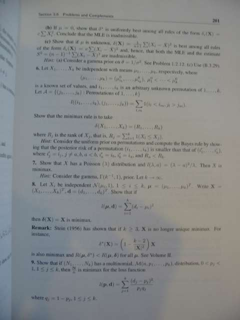Photo of MATHEMATICAL STATISTICS VOLUME 1 written by Bickel, Peter J. Doksum, Kjell A. published by Prentice-Hall (STOCK CODE: 597983)  for sale by Stella & Rose's Books