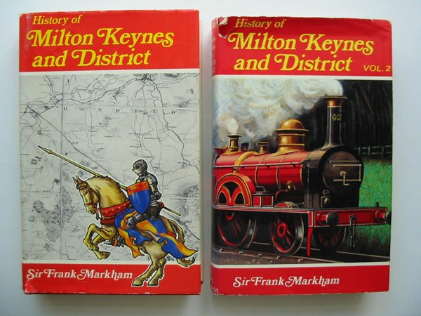 Photo of A HISTORY OF MILTON KEYNES AND DISTRICT (2 VOLUMES)- Stock Number: 598026