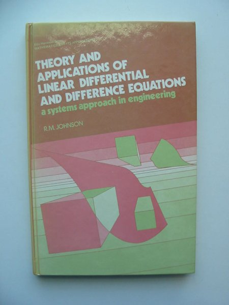 Photo of THEORY AND APPLICATIONS OF LINEAR DIFFERENTIAL AND DIFFERENCE EQUATIONS- Stock Number: 598863