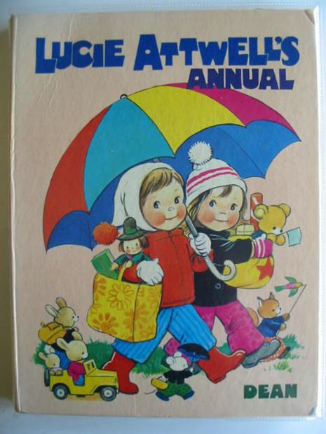 Photo of LUCIE ATTWELL'S ANNUAL 1972- Stock Number: 608727