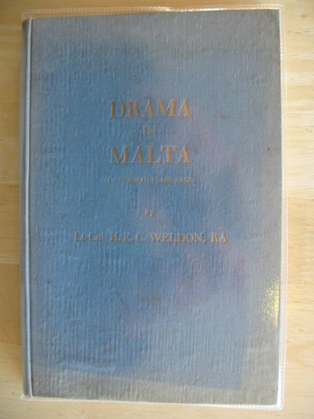Photo of DRAMA IN MALTA written by Weldon, H.E.C. (STOCK CODE: 618204)  for sale by Stella & Rose's Books
