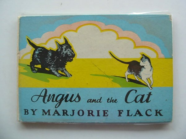 Photo of ANGUS AND THE CAT written by Flack, Marjorie illustrated by Flack, Marjorie published by The Bodley Head (STOCK CODE: 619188)  for sale by Stella & Rose's Books