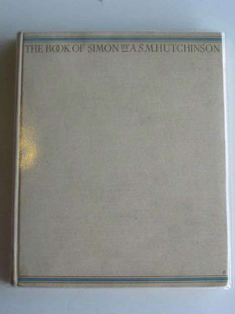 Photo of THE BOOK OF SIMON written by Hutchinson, A.S.M. illustrated by Watson, A.H. published by Little, Brown and Company (STOCK CODE: 619477)  for sale by Stella & Rose's Books