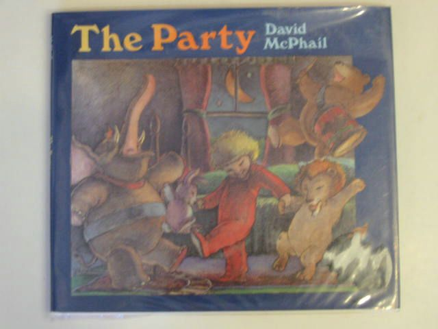 Photo of THE PARTY written by McPhail, David illustrated by McPhail, David published by Little, Brown and Company (STOCK CODE: 620414)  for sale by Stella & Rose's Books