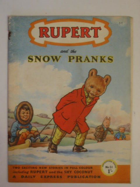 Photo of RUPERT ADVENTURE SERIES No. 31 - RUPERT AND THE SNOW PRANKS written by Bestall, Alfred published by Daily Express (STOCK CODE: 623151)  for sale by Stella & Rose's Books