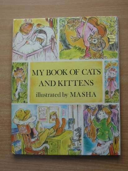 Photo of MY BOOK OF CATS & KITTENS illustrated by Masha,  published by Collins (STOCK CODE: 626385)  for sale by Stella & Rose's Books