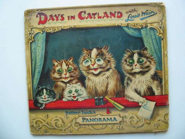 Photo of DAYS IN CATLAND written by Burnaby, Arthur illustrated by Wain, Louis published by Raphael Tuck & Sons Ltd. (STOCK CODE: 626891)  for sale by Stella & Rose's Books