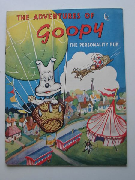 Photo of THE ADVENTURES OF GOOPY THE PERSONALITY PUP- Stock Number: 627095