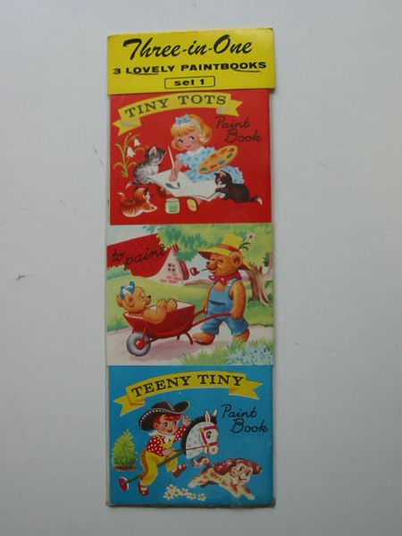 Photo of THREE-IN-ONE 3 LOVELY PAINTBOOKS SET 1 (STOCK CODE: 627108)  for sale by Stella & Rose's Books