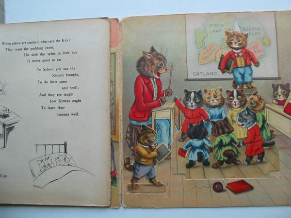 Photo of DAYS IN CATLAND written by Burnaby, Arthur illustrated by Wain, Louis published by Raphael Tuck & Sons Ltd. (STOCK CODE: 627756)  for sale by Stella & Rose's Books