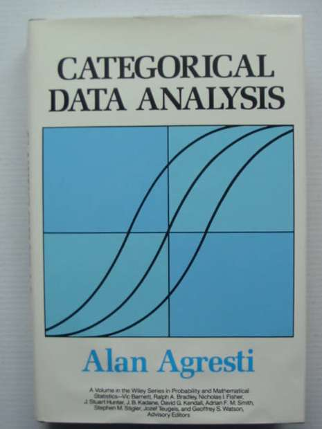 Photo of CATEGORICAL DATA ANALYSIS written by Agresti, Alan published by John Wiley & Sons (STOCK CODE: 627979)  for sale by Stella & Rose's Books