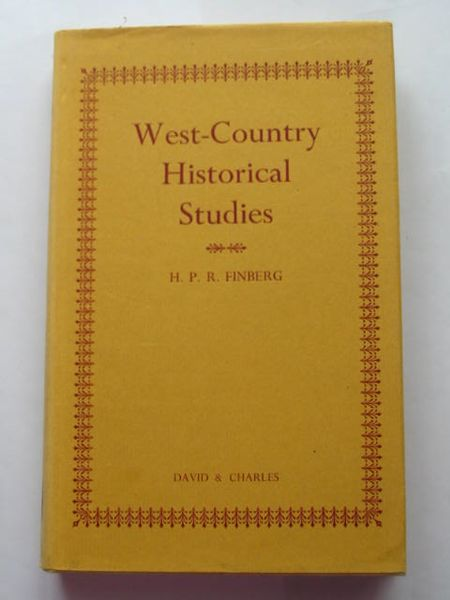 Photo of WEST-COUNTRY HISTORICAL STUDIES written by Finberg, H.P.R. published by David & Charles (STOCK CODE: 628461)  for sale by Stella & Rose's Books