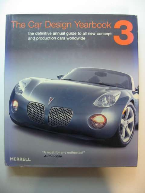 Photo of THE CAR DESIGN YEARBOOK 3- Stock Number: 628705