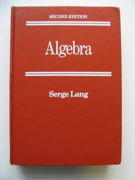 Photo of ALGBEBRA written by Lang, Serge published by Addison-Wesley Publishing Company Inc. (STOCK CODE: 628953)  for sale by Stella & Rose's Books