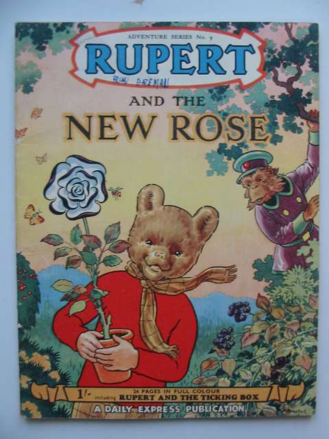 Photo of RUPERT ADVENTURE SERIES No. 9 - RUPERT AND THE NEW ROSE written by Bestall, Alfred illustrated by Bestall, Alfred published by Daily Express (STOCK CODE: 629080)  for sale by Stella & Rose's Books