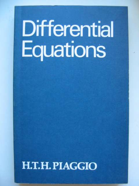 Photo of AN ELEMENTARY TREATISE ON DIFFERENTIAL EQUATIONS AND THEIR APPLICATIONS- Stock Number: 629785