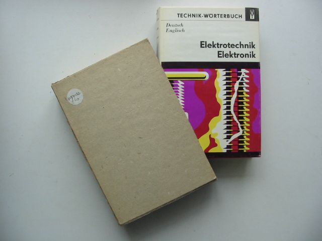 Photo of DICTIONARY OF ELECTRICAL ENGINEERING AND ELECTRONICS written by Budig, Peter-Klaus published by Elsevier (STOCK CODE: 629949)  for sale by Stella & Rose's Books