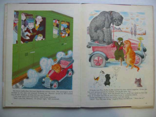 Photo of ORLANDO (THE MARMALADE CAT) KEEPS A DOG written by Hale, Kathleen illustrated by Hale, Kathleen published by Country Life (STOCK CODE: 630766)  for sale by Stella & Rose's Books