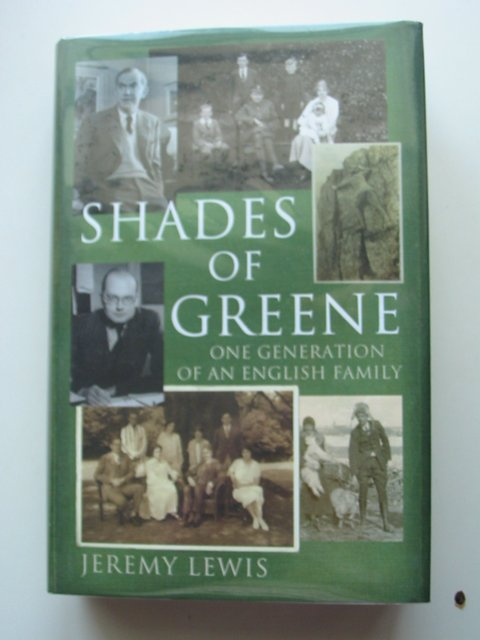 Photo of SHADES OF GREENE written by Lewis, Jeremy published by Jonathan Cape (STOCK CODE: 630874)  for sale by Stella & Rose's Books