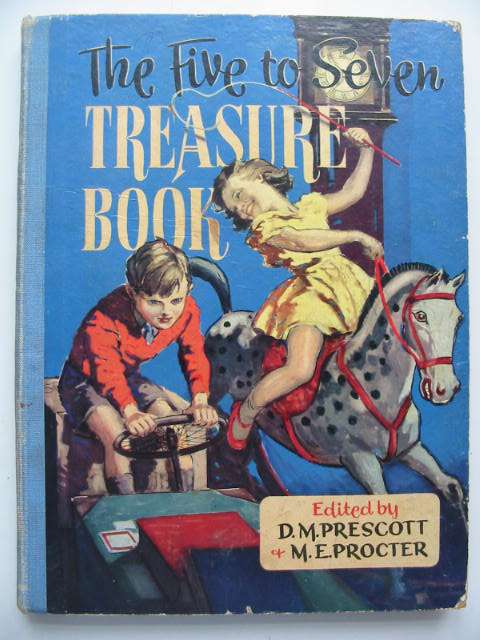Photo of THE FIVE TO SEVEN TREASURE BOOK- Stock Number: 631012