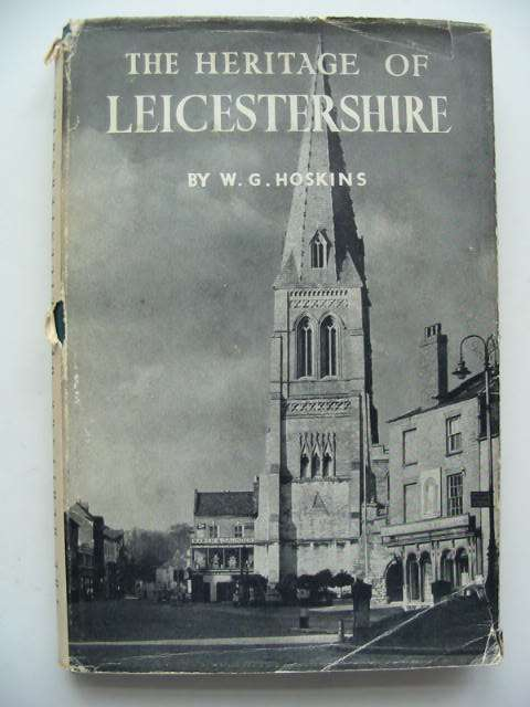 Photo of THE HERITAGE OF LEICESTERSHIRE written by Hoskins, W.G. published by Edgar Backus (STOCK CODE: 631052)  for sale by Stella & Rose's Books