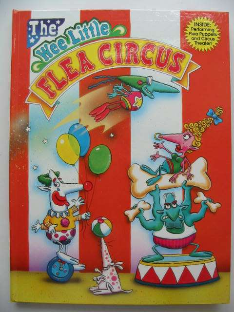 Photo of THE WEE LITTLE FLEA CIRCUS written by Witkowski, Dan illustrated by Jarvis, Nathan published by Abracadazzle (STOCK CODE: 631126)  for sale by Stella & Rose's Books