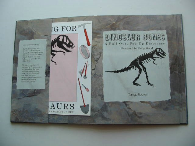 Photo of DINOSAUR BONES illustrated by Hood, Philip published by Tango Books (STOCK CODE: 631159)  for sale by Stella & Rose's Books