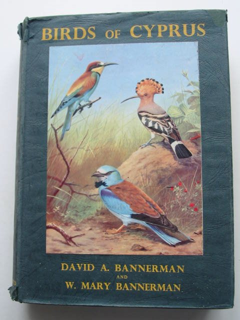 Photo of BIRDS OF CYPRUS written by Bannerman, D.A.