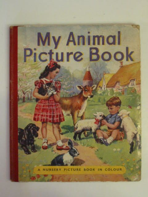 Photo of MY ANIMAL PICTURE BOOK- Stock Number: 650445