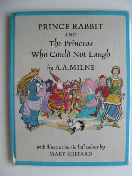 Photo of PRINCE RABBIT AND THE PRINCESS WHO COULD NOT LAUGH written by Milne, A.A. illustrated by Shepard, Mary published by Edmund Ward (STOCK CODE: 651690)  for sale by Stella & Rose's Books