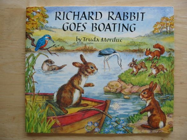 Photo of RICHARD RABBIT GOES BOATING written by Mordue, Truda illustrated by Mordue, Truda published by The Medici Society (STOCK CODE: 654418)  for sale by Stella & Rose's Books
