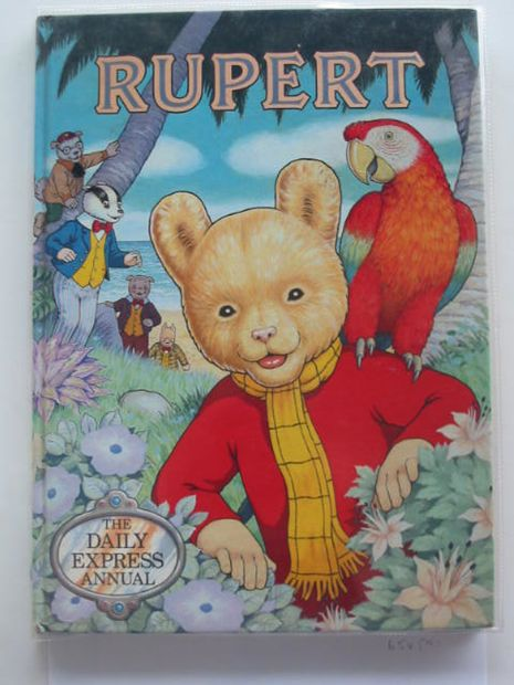 Photo of RUPERT ANNUAL 1987 written by Henderson, James illustrated by Harrold, John published by Daily Express (STOCK CODE: 654571)  for sale by Stella & Rose's Books