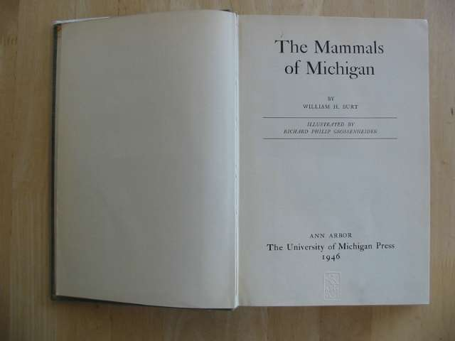 Photo of THE MAMMALS OF MICHIGAN- Stock Number: 656756