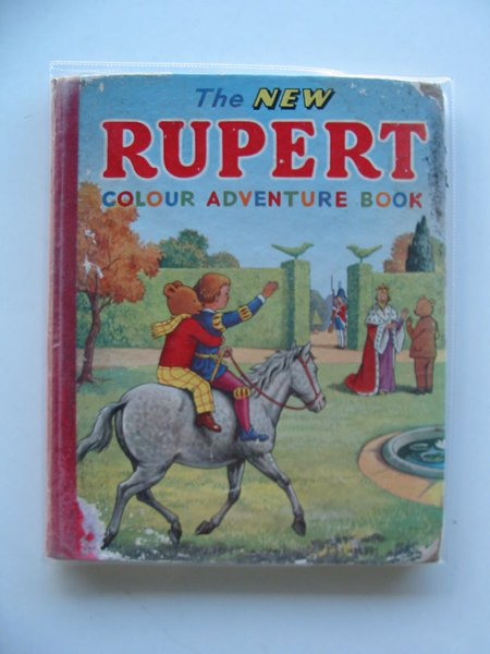 Photo of THE NEW RUPERT COLOUR ADVENTURE BOOK written by Tourtel, Mary published by L.T.A. Robinson Ltd. (STOCK CODE: 658108)  for sale by Stella & Rose's Books