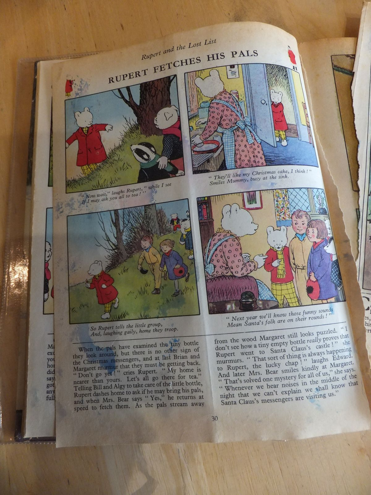 Photo of RUPERT ANNUAL 1967 written by Bestall, Alfred illustrated by Bestall, Alfred published by Daily Express (STOCK CODE: 660710)  for sale by Stella & Rose's Books