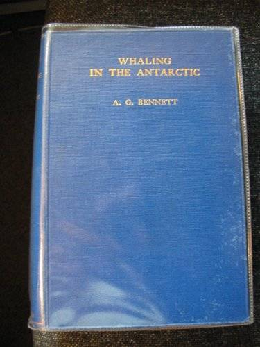 Photo of WHALING IN THE ANTARCTIC written by Bennett, A.G. published by William Blackwood & Sons Ltd. (STOCK CODE: 660831)  for sale by Stella & Rose's Books