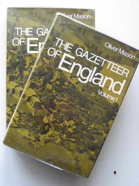 Photo of THE GAZETTEER OF ENGLAND written by Mason, Oliver published by David & Charles (STOCK CODE: 662362)  for sale by Stella & Rose's Books