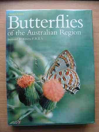 Photo of BUTTERFLIES OF THE AUSTRALIAN REGION written by D'Abrera, Bernard published by Lansdowne (STOCK CODE: 663808)  for sale by Stella & Rose's Books